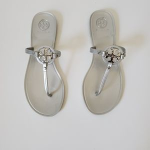 TORY BURCH | Mini Miller Jelly Thong Sandals | 8